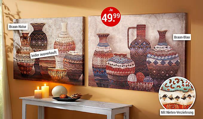 Bild Wandbilder Vase