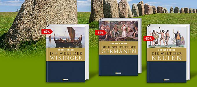Bild: Die Welt der Kelten, Die Geschichte der Germanen, Die Welt der Wikinger