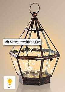 Bild LED-Laterne Rhomba