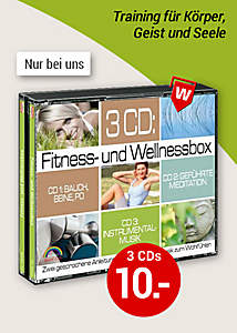 Bild CD Fitness-& Wellnessbox