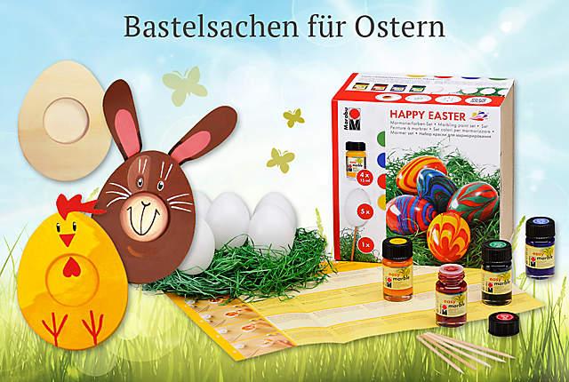 Bild Bastelsachen für Ostern