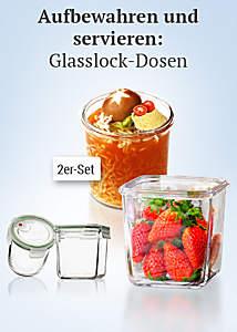 Bild Glasslock-Dosen