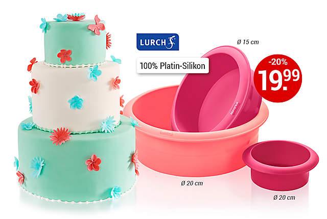 Bild Tortenformen 3-stöckige Torte
