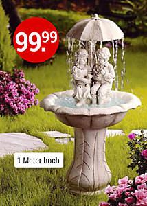 Bild Gartenbrunnen Romantik