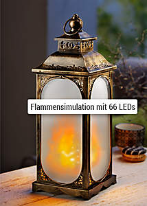 Bild LED-Laterne Flame