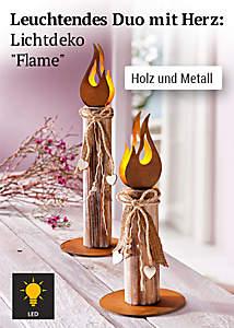 Bild Lichtdeko Flame