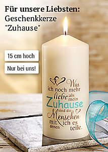 Bild Kerze Zuhause