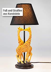 Bild Tischlampe Giraffe