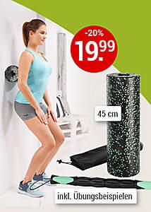 Bild Fitnessrolle + Massageroller