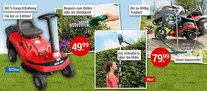 Bild Große Gartengeräte