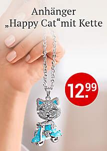 Bild Anhänger Happy Cats