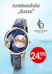Bild Armbanduhr Katze