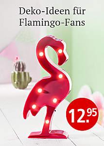 """Bild Deko-Trend """"Flamingo"""""""