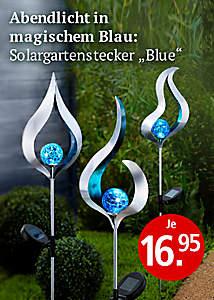Bild Gartenstecker Blue
