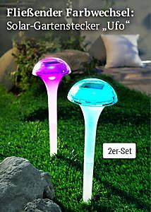 Bild Solargartenstecker Ufo