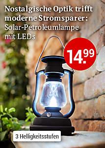 Solar-Petroleumlampe