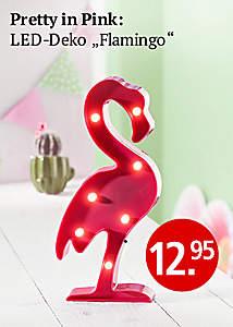 LED-Deko Flamingo