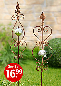 Bild Gartenstecker Rusty