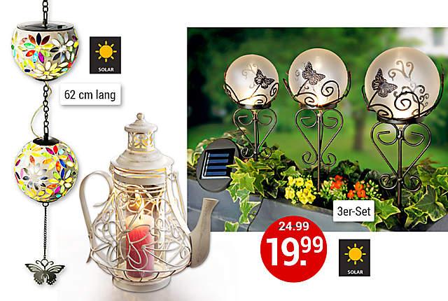 Gartendekoration g nstig online kaufen bei for Romantische gartendeko