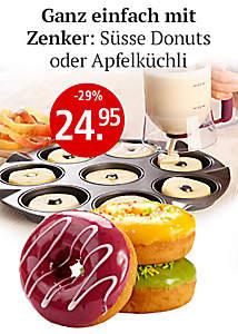 Bild Zenker Donuts/Apfelküchli