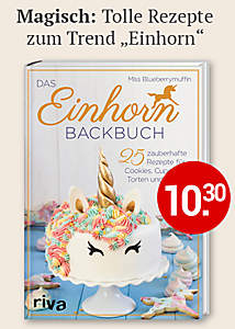 Bild Einhorn-Backbuch