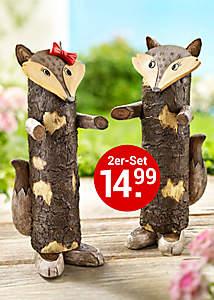 Bild Baumstammfiguren Fuchs