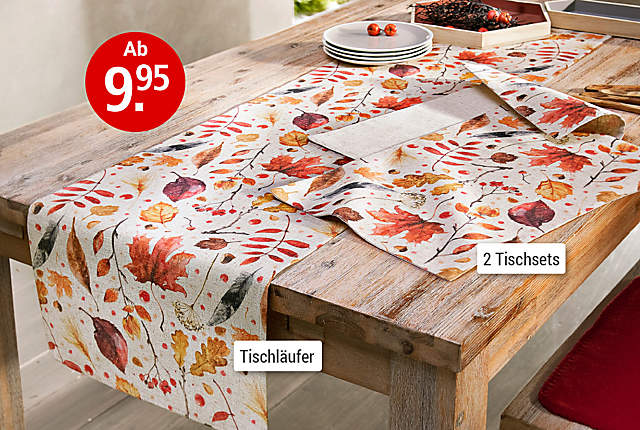 Bild Tischwäsche Herbst