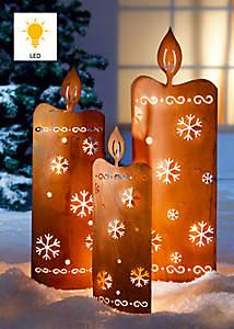 Bild Gartenstecker Kerzen