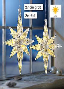 Bild LED-Sterne Kristall