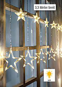 """Bild  LED-Lichtervorhang """"Stars"""""""