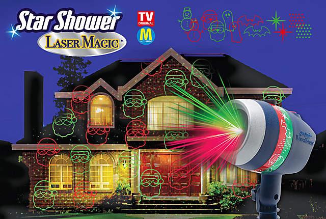 Bild Star Shower Laser Magic