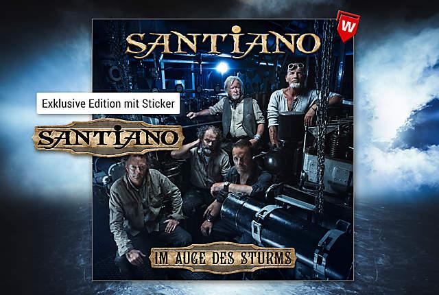 Santiano - Im Auge des Sturms (Exklusive Edition mit Sticker)