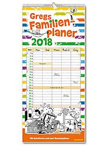 NEU! Gregs Familienplaner 2018