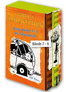 Gregs Bibliothek, Bände 7 - 9 im Schuber