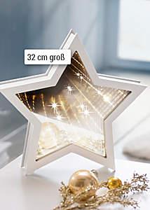 """Bild LED-Stern """"Unendlichkeit"""""""