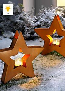 Bild Gartenstecker Stern