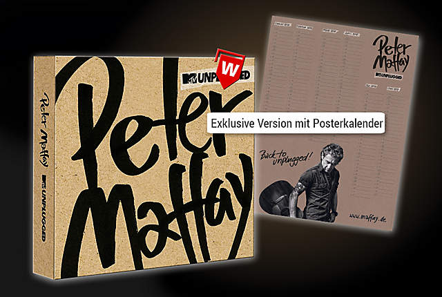 CD MTV Unplugged (Exklusive Version mit Posterkalender)