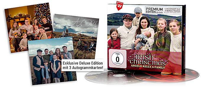 Angelo Kelly & Family - Irish Christmas Premium CD+DVD