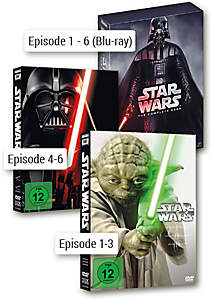 Bild Star Wars DVDs