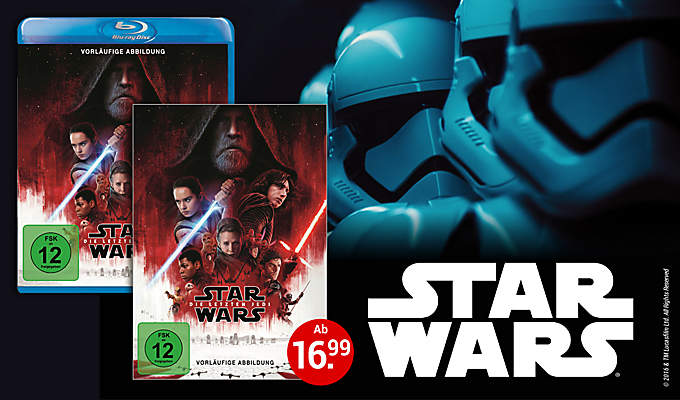 Einstiegsmotiv Star Wars