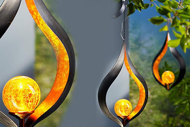 """Bild Solar-Hängedeko """"Candela"""""""