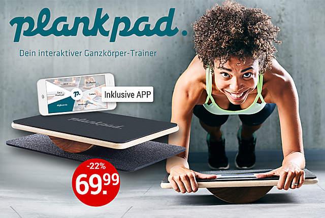 Plankpad mit App