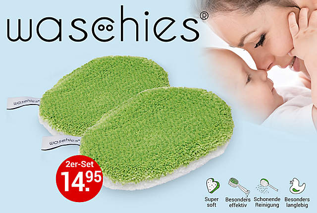 Waschies Baby-Pads, 2er-Set