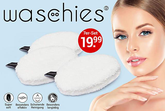 Waschies Abschmink- & Waschpads, 7er-Set