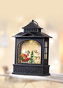 Bild Laterne Weihnachtsschlitten