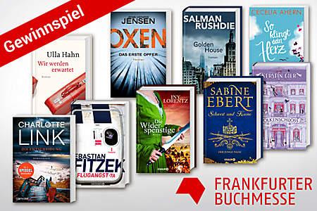 Gewinnspiel zur Frankfurter Buchmesse