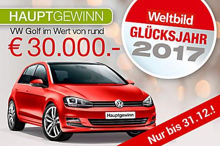 Hauptgewinn: VW Gold im WErt von rund 30.000 €!