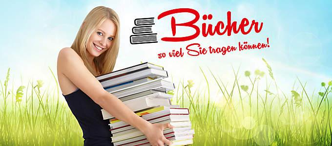 Bücher, so viel Sie tragen können