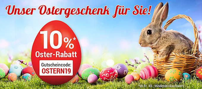 10% Oster-Rabatt
