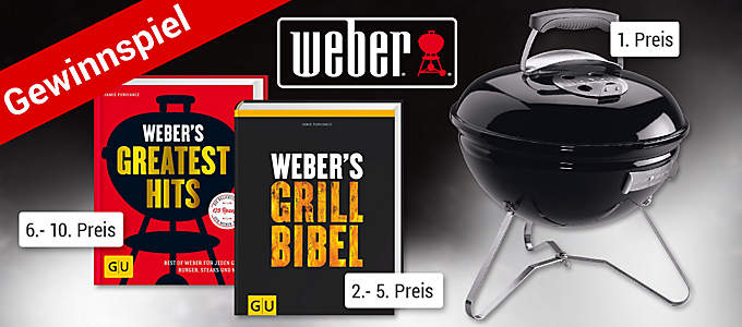 Weber Grill-Gewinnspiel mit tollen Preisen!